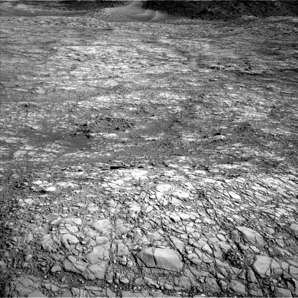 NASA's Mars rover Curiosity acquired this image using its Left Navigation Camera (Navcams) on Sol 1410