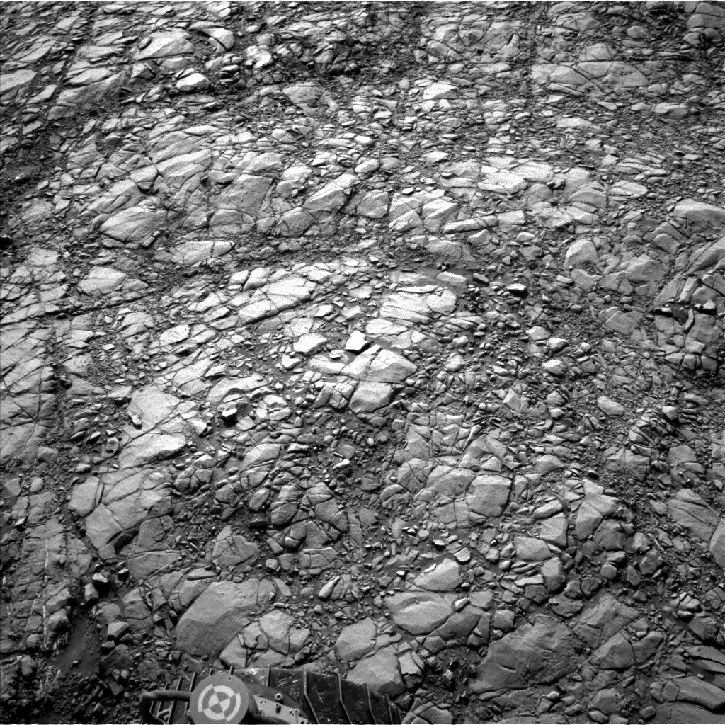 Nasa's Mars rover Curiosity acquired this image using its Left Navigation Camera on Sol 1410, at drive 462, site number 56