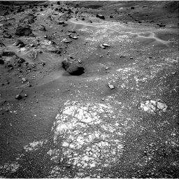 Nasa's Mars rover Curiosity acquired this image using its Right Navigation Camera on Sol 1410, at drive 12, site number 56