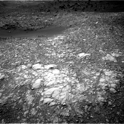 Nasa's Mars rover Curiosity acquired this image using its Right Navigation Camera on Sol 1410, at drive 156, site number 56