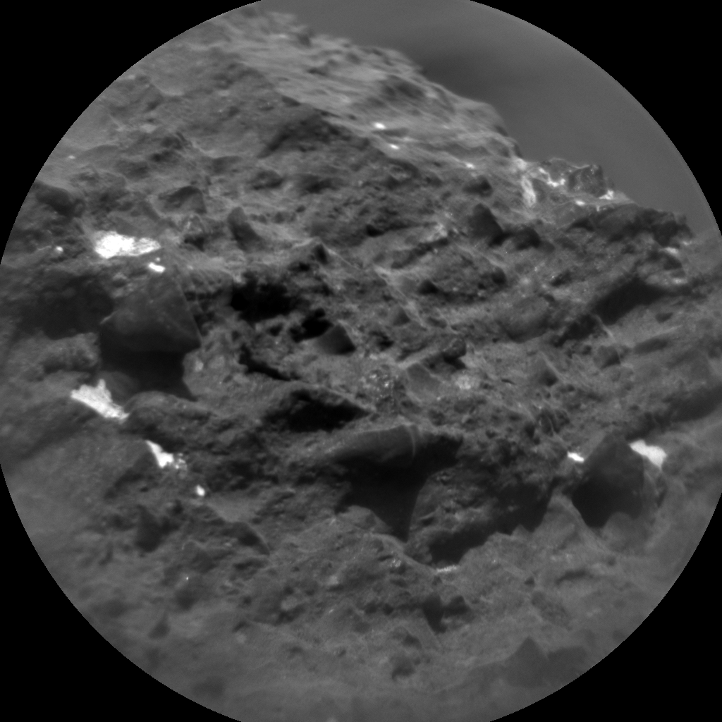 Nasa's Mars rover Curiosity acquired this image using its Chemistry & Camera (ChemCam) on Sol 1410, at drive 0, site number 56