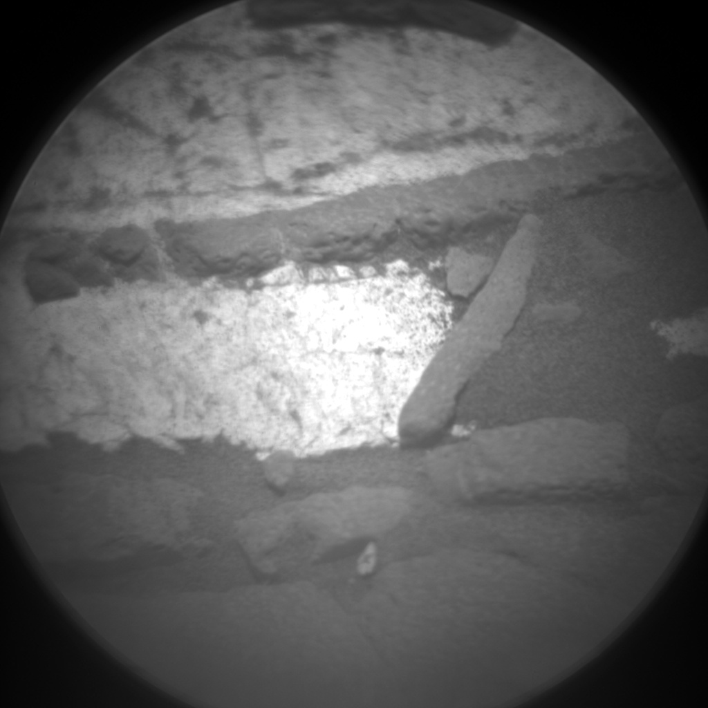 Nasa's Mars rover Curiosity acquired this image using its Chemistry & Camera (ChemCam) on Sol 1412, at drive 462, site number 56