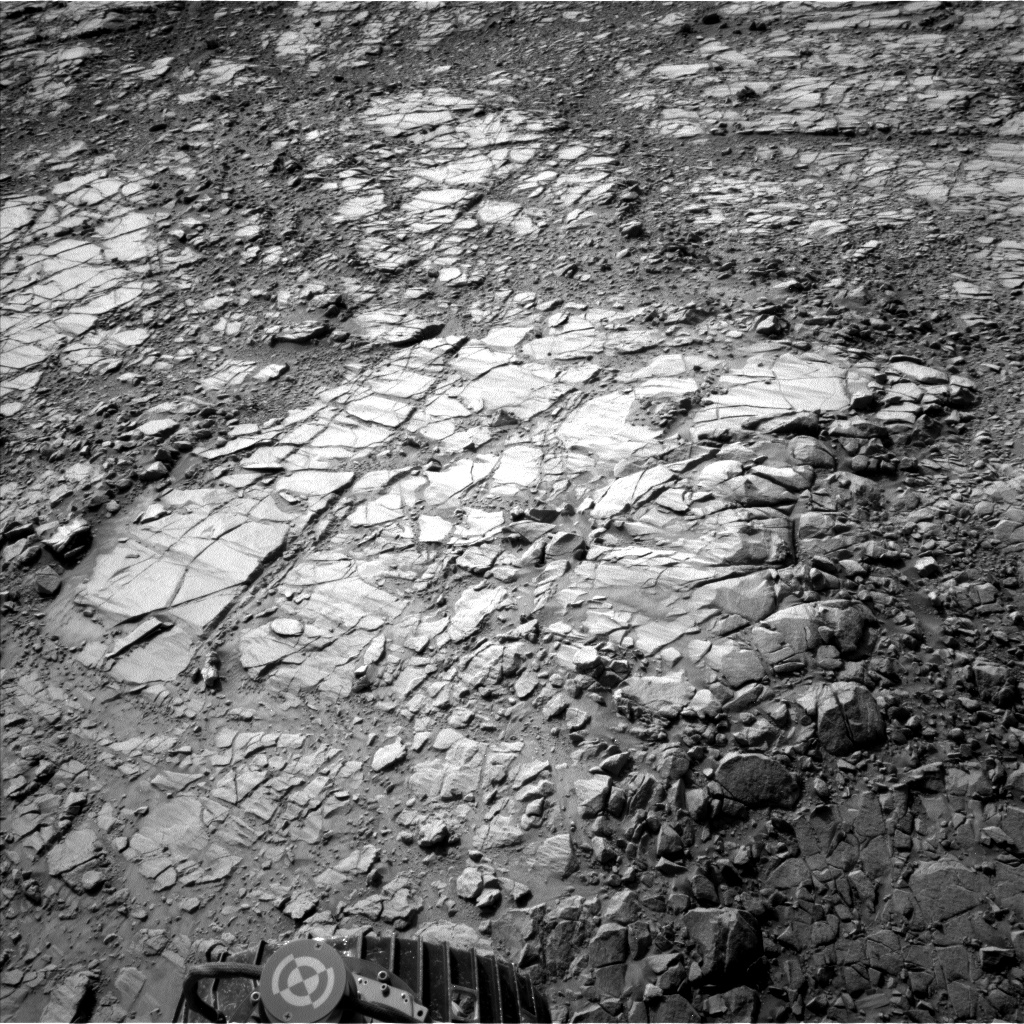 Nasa's Mars rover Curiosity acquired this image using its Left Navigation Camera on Sol 1412, at drive 774, site number 56
