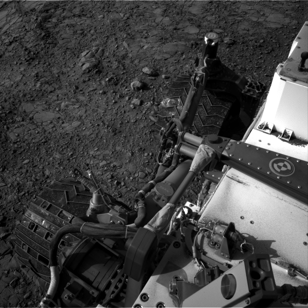Nasa's Mars rover Curiosity acquired this image using its Right Navigation Camera on Sol 1412, at drive 774, site number 56