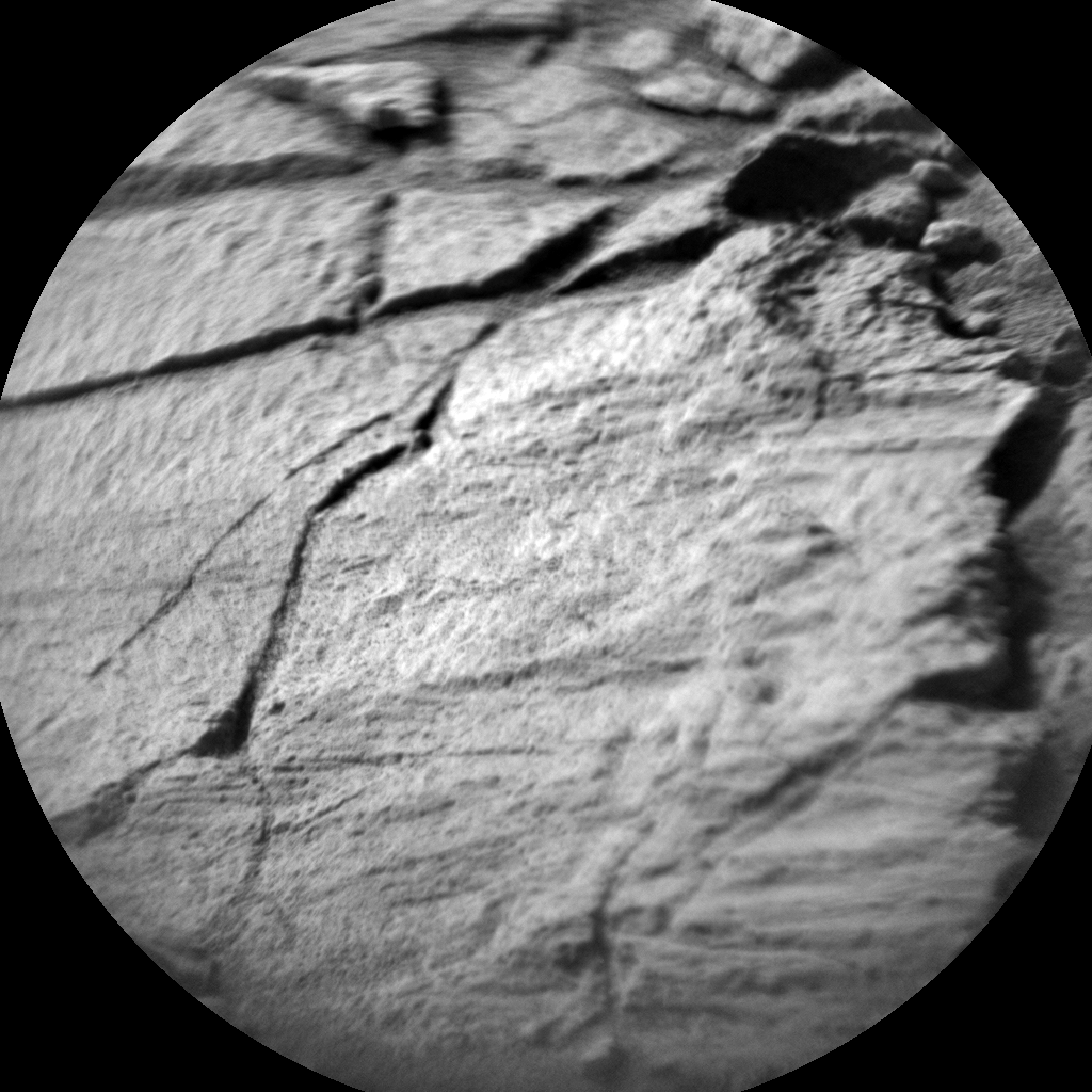 Nasa's Mars rover Curiosity acquired this image using its Chemistry & Camera (ChemCam) on Sol 1412, at drive 774, site number 56