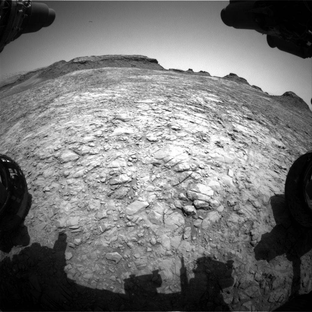 Nasa's Mars rover Curiosity acquired this image using its Front Hazard Avoidance Camera (Front Hazcam) on Sol 1413, at drive 774, site number 56