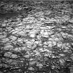 Nasa's Mars rover Curiosity acquired this image using its Left Navigation Camera on Sol 1414, at drive 1056, site number 56