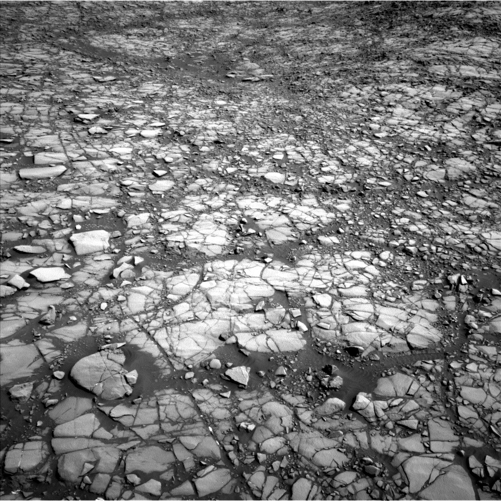 Nasa's Mars rover Curiosity acquired this image using its Left Navigation Camera on Sol 1414, at drive 1086, site number 56