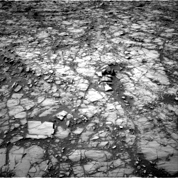 Nasa's Mars rover Curiosity acquired this image using its Right Navigation Camera on Sol 1414, at drive 870, site number 56