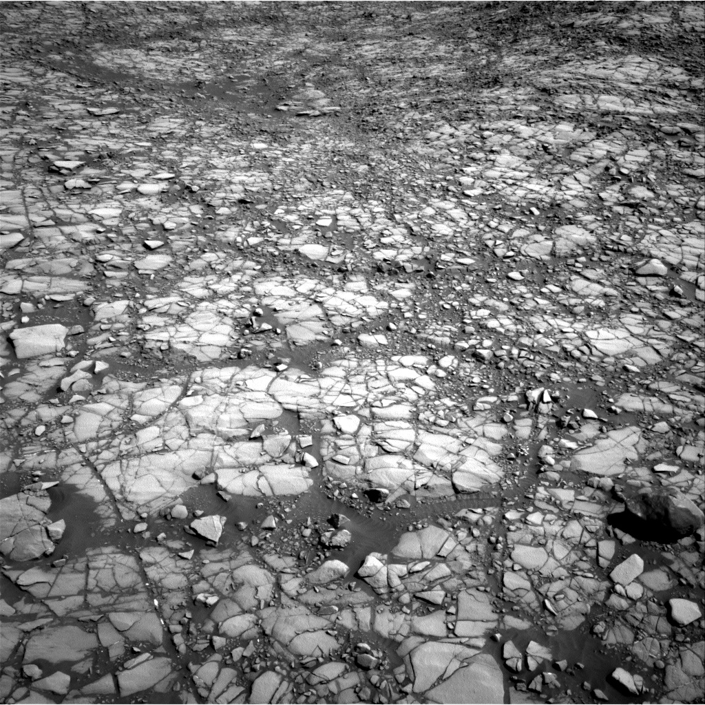 Nasa's Mars rover Curiosity acquired this image using its Right Navigation Camera on Sol 1414, at drive 1086, site number 56