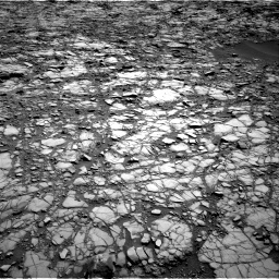Nasa's Mars rover Curiosity acquired this image using its Right Navigation Camera on Sol 1414, at drive 1098, site number 56