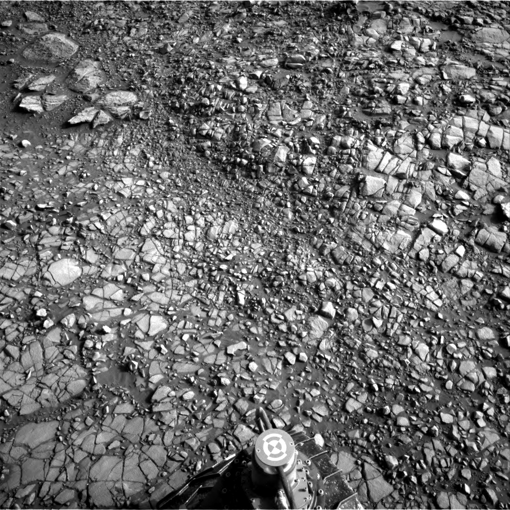 Nasa's Mars rover Curiosity acquired this image using its Right Navigation Camera on Sol 1414, at drive 1122, site number 56