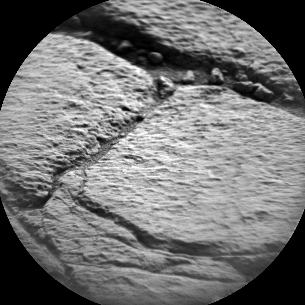 Nasa's Mars rover Curiosity acquired this image using its Chemistry & Camera (ChemCam) on Sol 1414, at drive 1122, site number 56