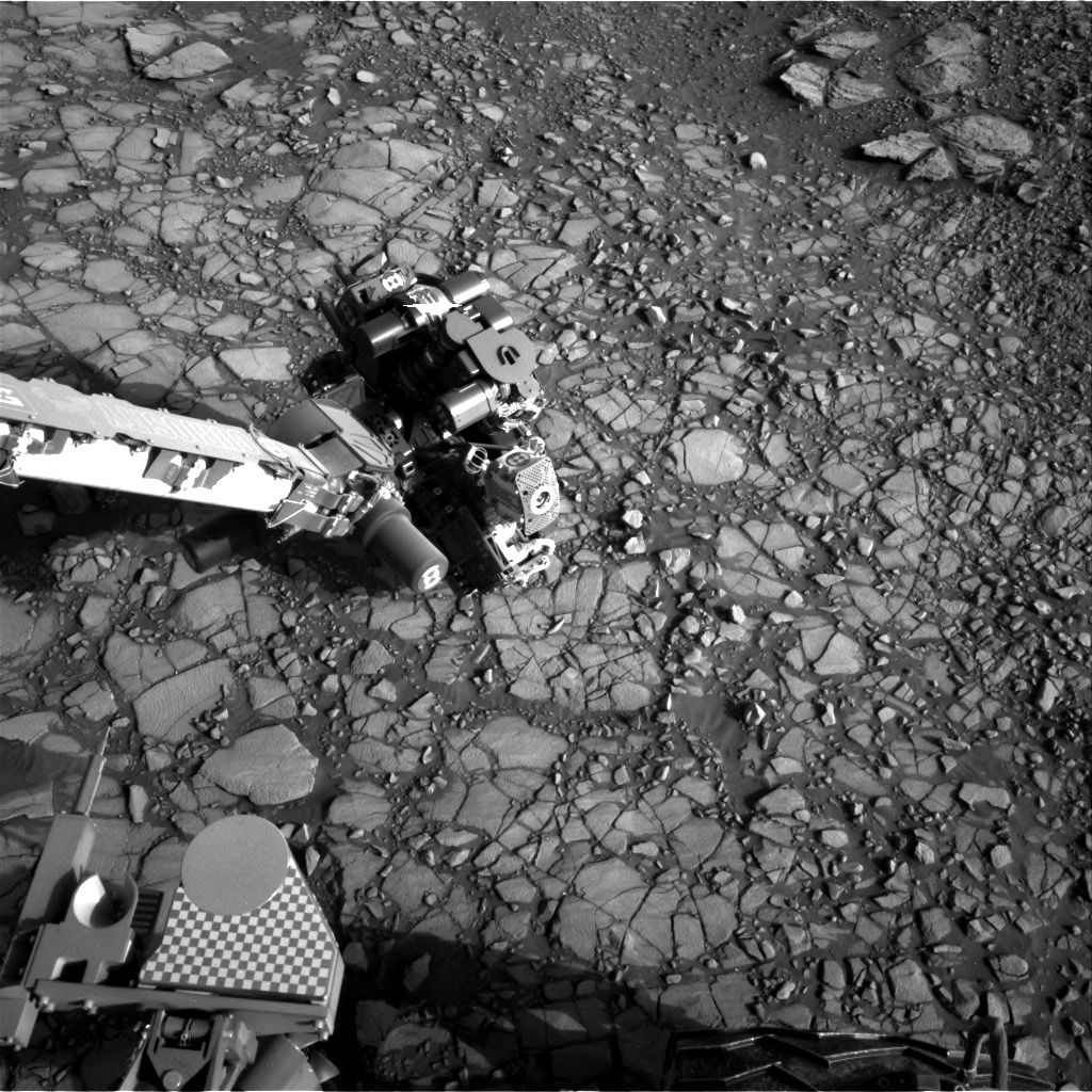 Nasa's Mars rover Curiosity acquired this image using its Right Navigation Camera on Sol 1416, at drive 1122, site number 56