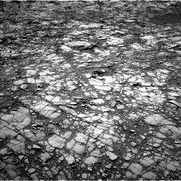 Nasa's Mars rover Curiosity acquired this image using its Left Navigation Camera on Sol 1417, at drive 1128, site number 56