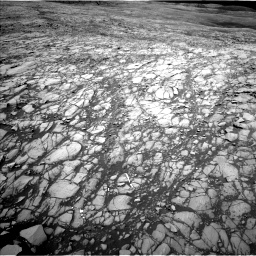 Nasa's Mars rover Curiosity acquired this image using its Left Navigation Camera on Sol 1417, at drive 1182, site number 56