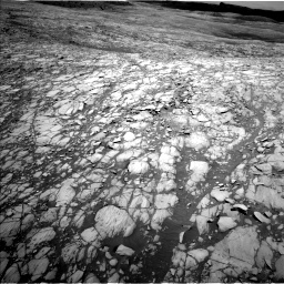 Nasa's Mars rover Curiosity acquired this image using its Left Navigation Camera on Sol 1417, at drive 1194, site number 56