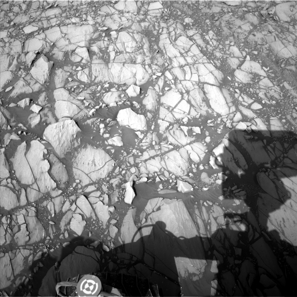 Nasa's Mars rover Curiosity acquired this image using its Left Navigation Camera on Sol 1417, at drive 1236, site number 56
