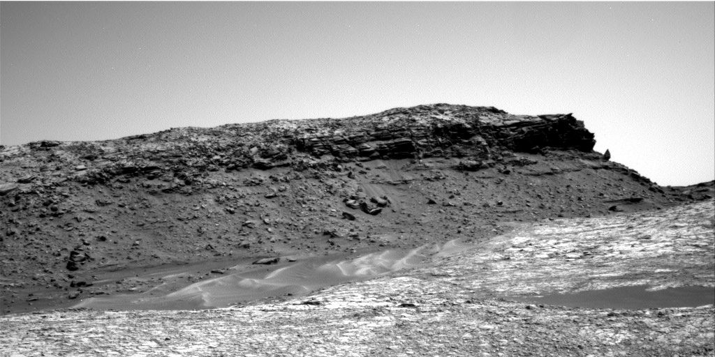 Nasa's Mars rover Curiosity acquired this image using its Right Navigation Camera on Sol 1417, at drive 1236, site number 56