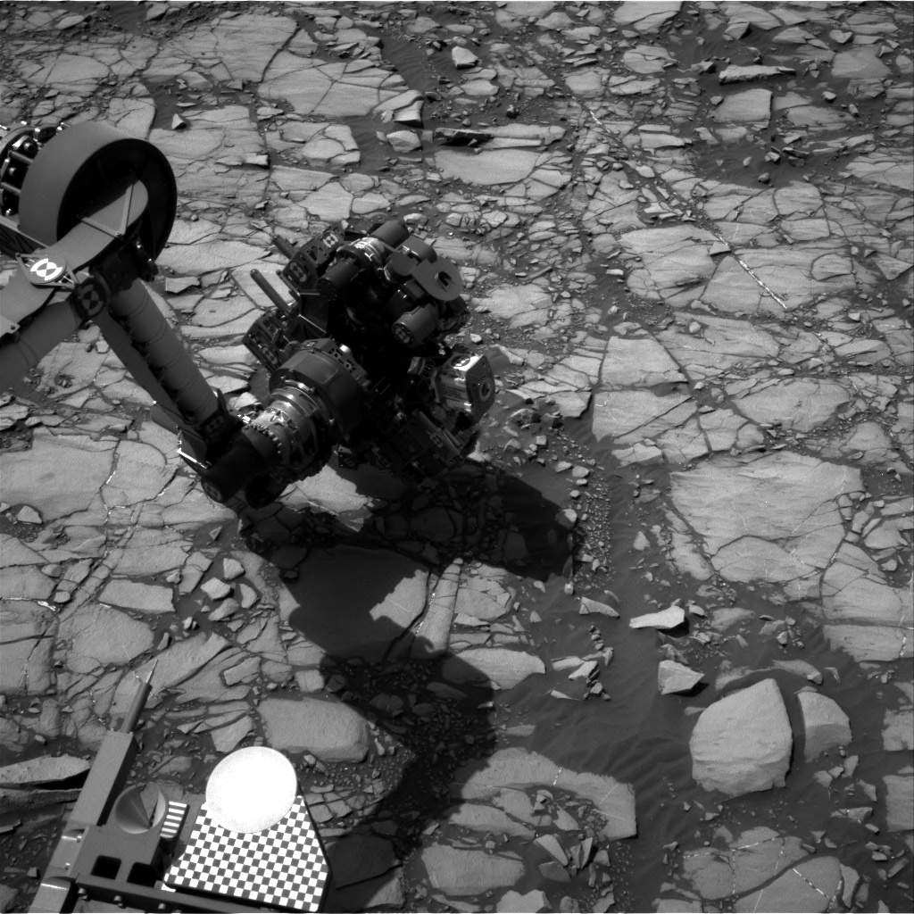 Nasa's Mars rover Curiosity acquired this image using its Right Navigation Camera on Sol 1418, at drive 1236, site number 56