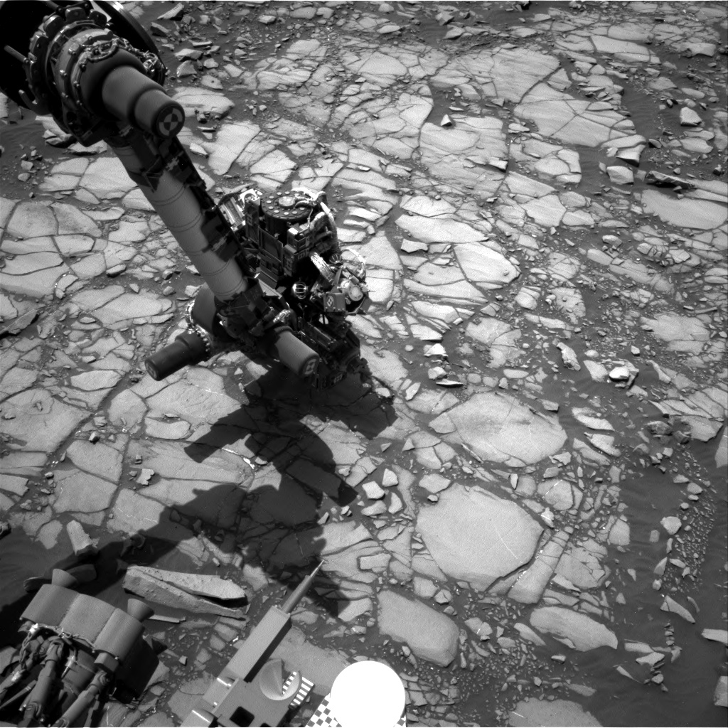 Nasa's Mars rover Curiosity acquired this image using its Right Navigation Camera on Sol 1420, at drive 1236, site number 56