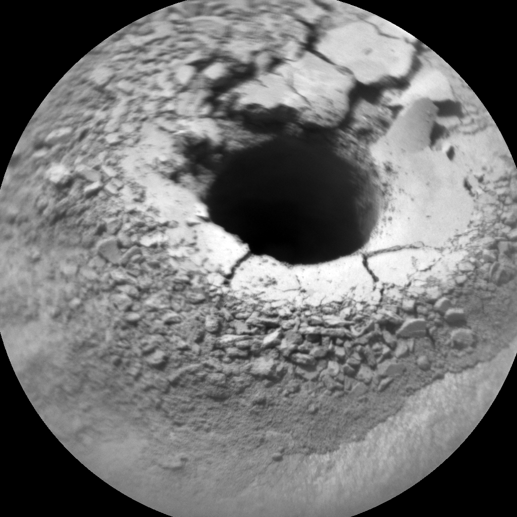 Nasa's Mars rover Curiosity acquired this image using its Chemistry & Camera (ChemCam) on Sol 1423, at drive 1236, site number 56