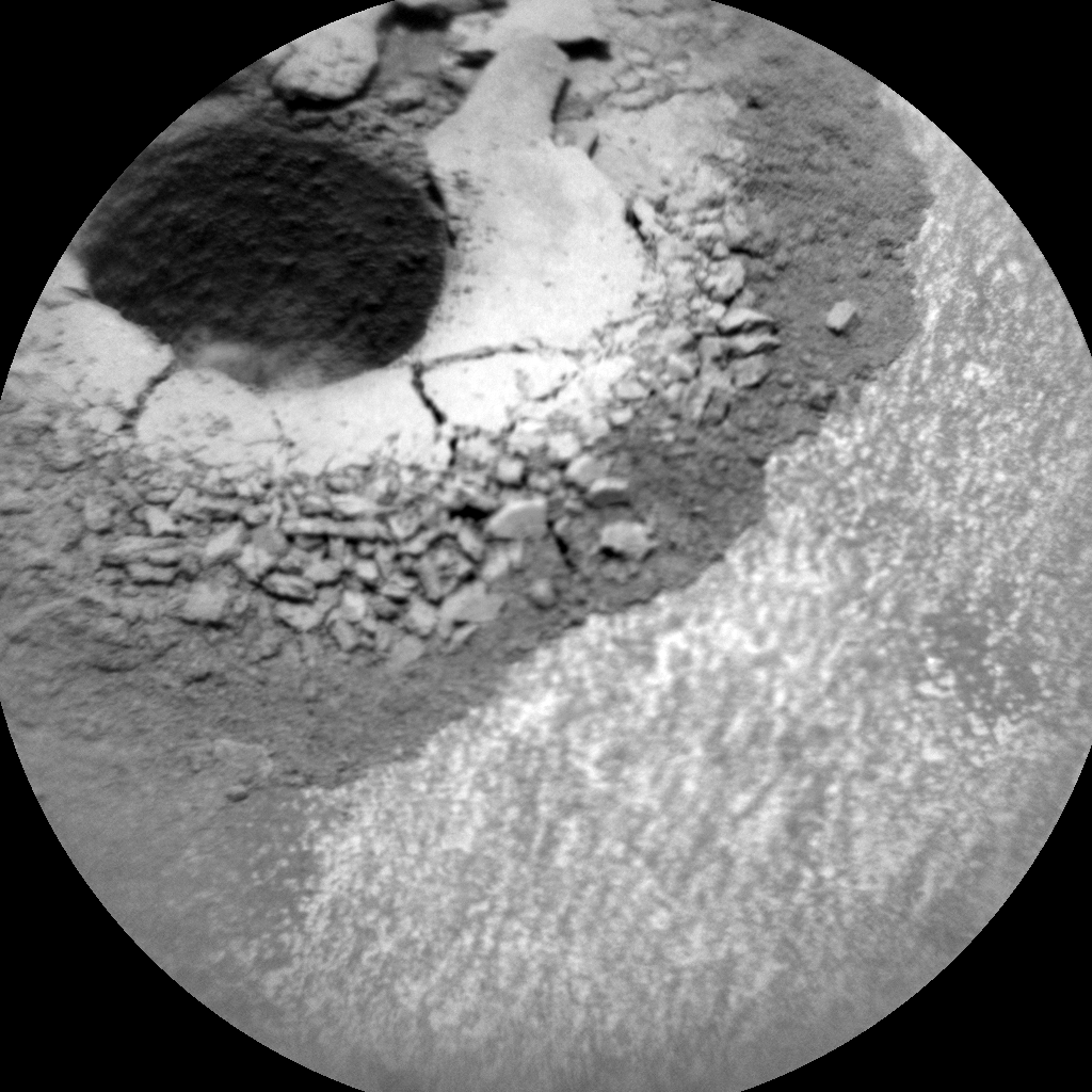 Nasa's Mars rover Curiosity acquired this image using its Chemistry & Camera (ChemCam) on Sol 1425, at drive 1236, site number 56