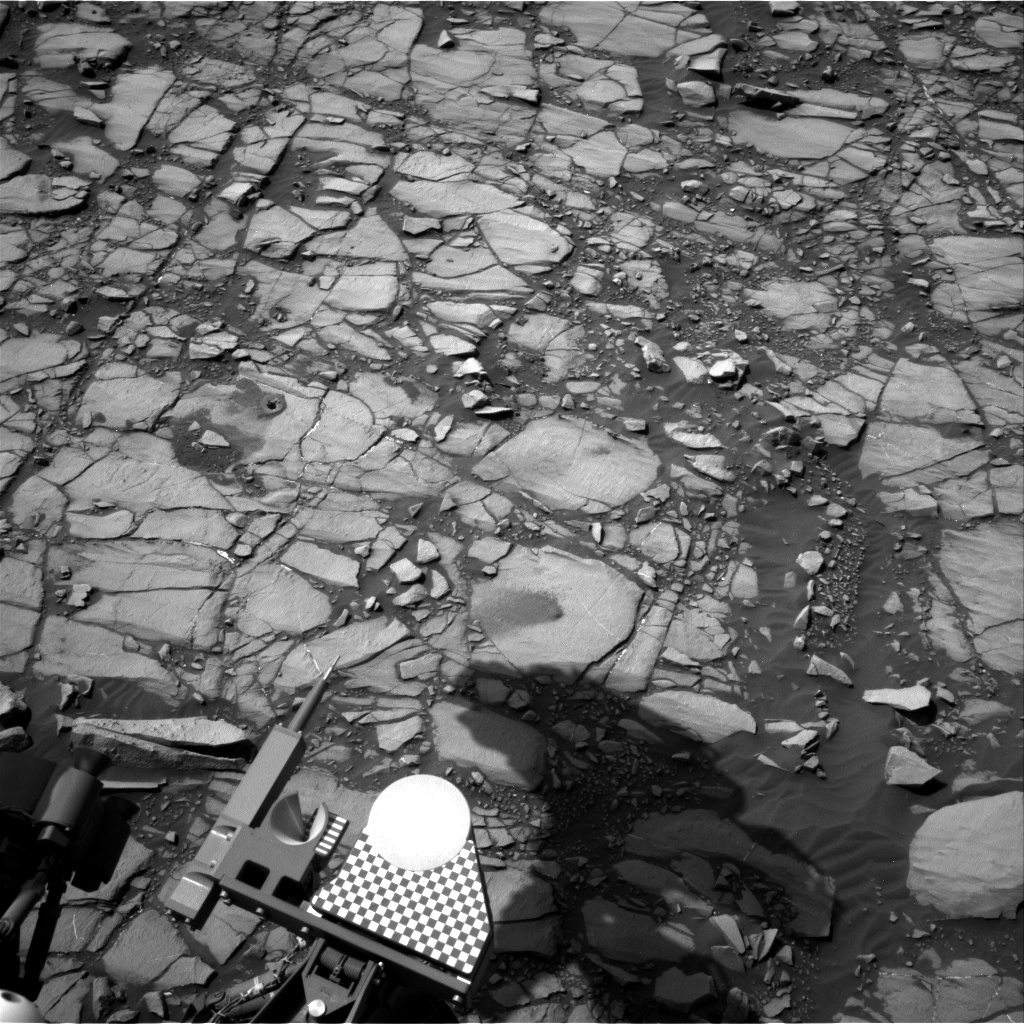 Nasa's Mars rover Curiosity acquired this image using its Right Navigation Camera on Sol 1426, at drive 1236, site number 56
