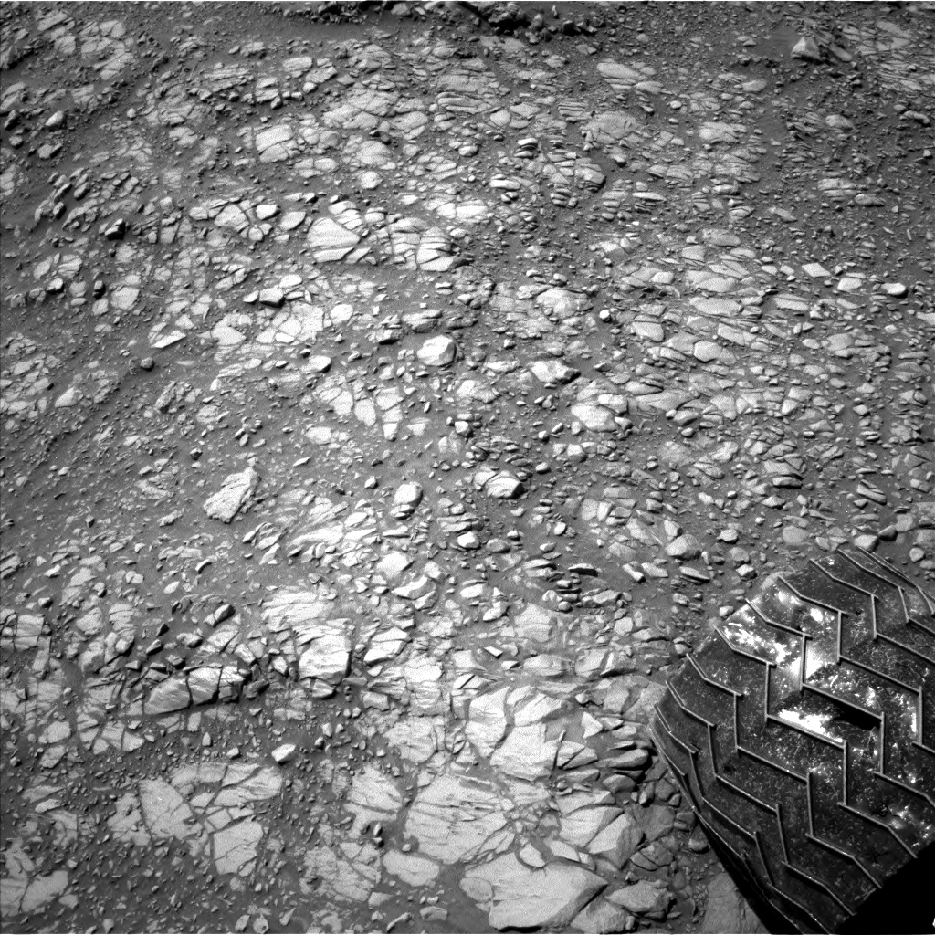 Nasa's Mars rover Curiosity acquired this image using its Left Navigation Camera on Sol 1427, at drive 1326, site number 56