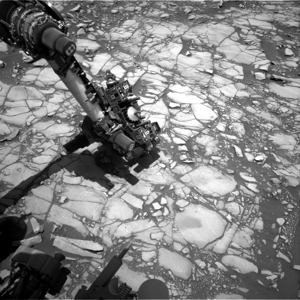 Nasa's Mars rover Curiosity acquired this image using its Right Navigation Camera on Sol 1427, at drive 1236, site number 56