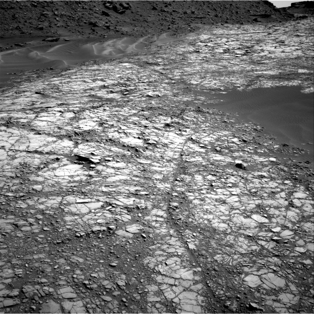 Nasa's Mars rover Curiosity acquired this image using its Right Navigation Camera on Sol 1427, at drive 1326, site number 56