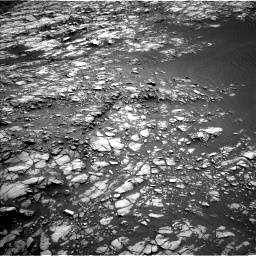 Nasa's Mars rover Curiosity acquired this image using its Left Navigation Camera on Sol 1428, at drive 1380, site number 56