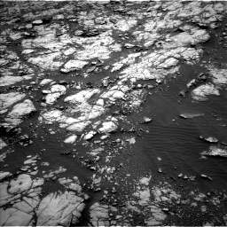 Nasa's Mars rover Curiosity acquired this image using its Left Navigation Camera on Sol 1428, at drive 1536, site number 56