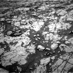 Nasa's Mars rover Curiosity acquired this image using its Left Navigation Camera on Sol 1428, at drive 1560, site number 56