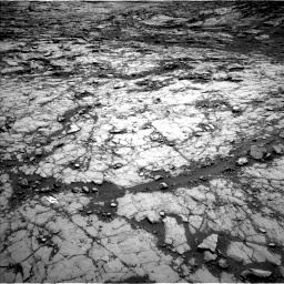 Nasa's Mars rover Curiosity acquired this image using its Left Navigation Camera on Sol 1428, at drive 1632, site number 56