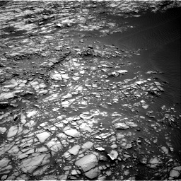 Nasa's Mars rover Curiosity acquired this image using its Right Navigation Camera on Sol 1428, at drive 1374, site number 56