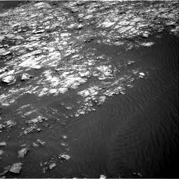 Nasa's Mars rover Curiosity acquired this image using its Right Navigation Camera on Sol 1428, at drive 1404, site number 56