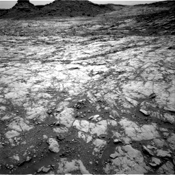 Nasa's Mars rover Curiosity acquired this image using its Right Navigation Camera on Sol 1428, at drive 1602, site number 56