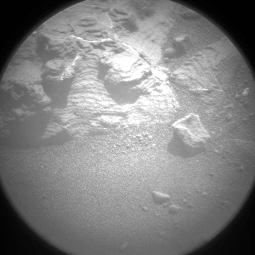 Nasa's Mars rover Curiosity acquired this image using its Chemistry & Camera (ChemCam) on Sol 1429, at drive 1632, site number 56