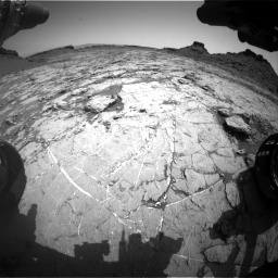Nasa's Mars rover Curiosity acquired this image using its Front Hazard Avoidance Camera (Front Hazcam) on Sol 1431, at drive 1944, site number 56