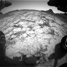 Nasa's Mars rover Curiosity acquired this image using its Front Hazard Avoidance Camera (Front Hazcam) on Sol 1431, at drive 1998, site number 56