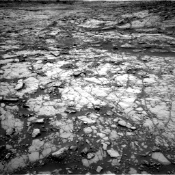 Nasa's Mars rover Curiosity acquired this image using its Left Navigation Camera on Sol 1431, at drive 1674, site number 56
