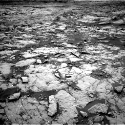 Nasa's Mars rover Curiosity acquired this image using its Left Navigation Camera on Sol 1431, at drive 1692, site number 56