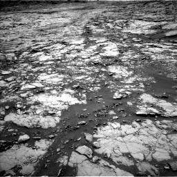 Nasa's Mars rover Curiosity acquired this image using its Left Navigation Camera on Sol 1431, at drive 1716, site number 56