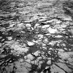 Nasa's Mars rover Curiosity acquired this image using its Left Navigation Camera on Sol 1431, at drive 1746, site number 56