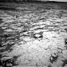 Nasa's Mars rover Curiosity acquired this image using its Left Navigation Camera on Sol 1431, at drive 1926, site number 56