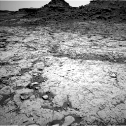 Nasa's Mars rover Curiosity acquired this image using its Left Navigation Camera on Sol 1431, at drive 1938, site number 56
