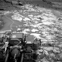 Nasa's Mars rover Curiosity acquired this image using its Left Navigation Camera on Sol 1431, at drive 1944, site number 56