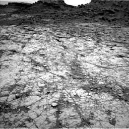 Nasa's Mars rover Curiosity acquired this image using its Left Navigation Camera on Sol 1431, at drive 1962, site number 56