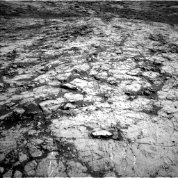 Nasa's Mars rover Curiosity acquired this image using its Left Navigation Camera on Sol 1431, at drive 1980, site number 56